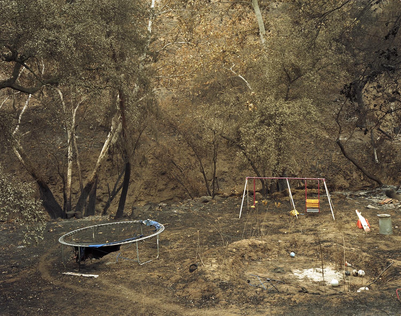 Wildfire #12, Cedar Fire, Lakeside CA, 2003.