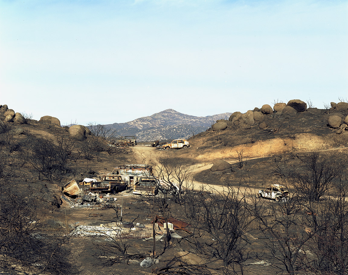 Wildfire #17, Cedar Fire, Wildcat Canyon, CA,2007