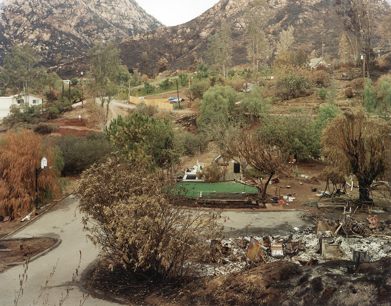 Wildfire #1, Cedar Fire, Eucalyptus Hills, CA, 2003
