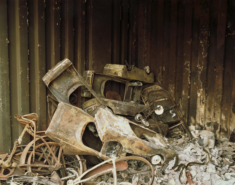 Wildfire #87, Grass Valley Fire, Ceder Glen, CA, 2003