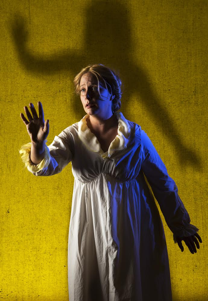 Claire Mannle and Bryn Booth in  The Yellow Wallpaper Photo by Tim Fuller