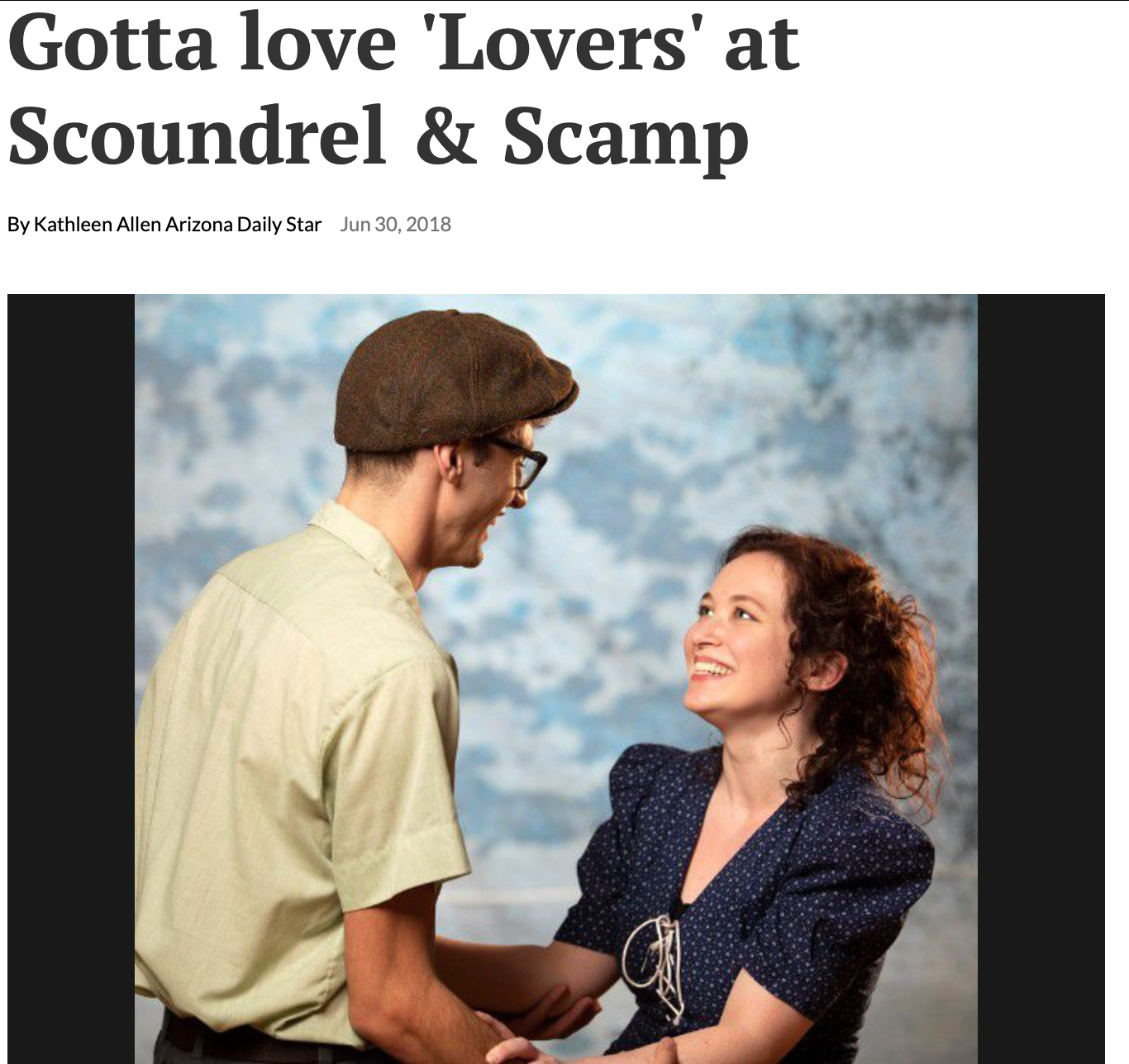 Gotta Love 'Lovers' at Scoundrel & Scamp ,   Arizona Daily Star