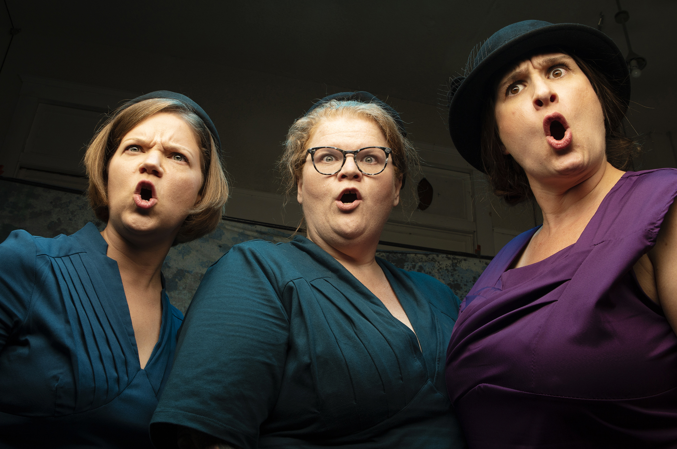 Leah Taylor, Gretchen Wirges, Julia Balestracci in EURYDICE. Photo TIM FULLER.jpg