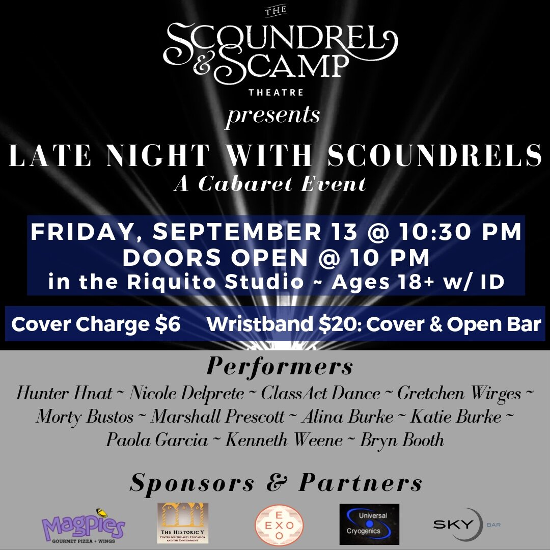 September 13th, 2019  Late Night With Scoundrels