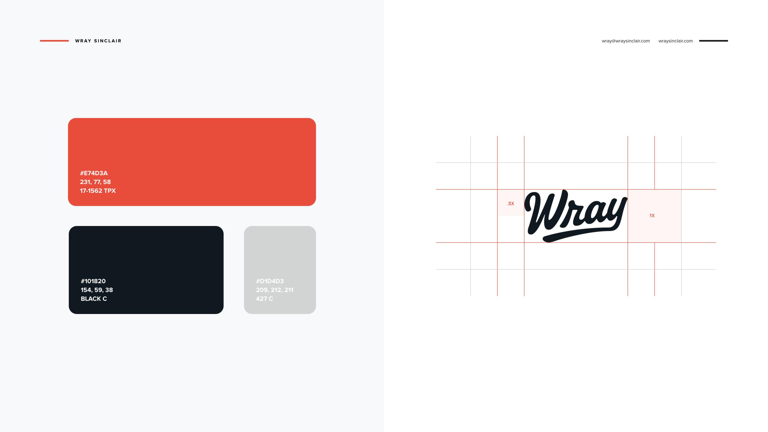 Design By Diamond - Wray Sinclair - Branding - 5