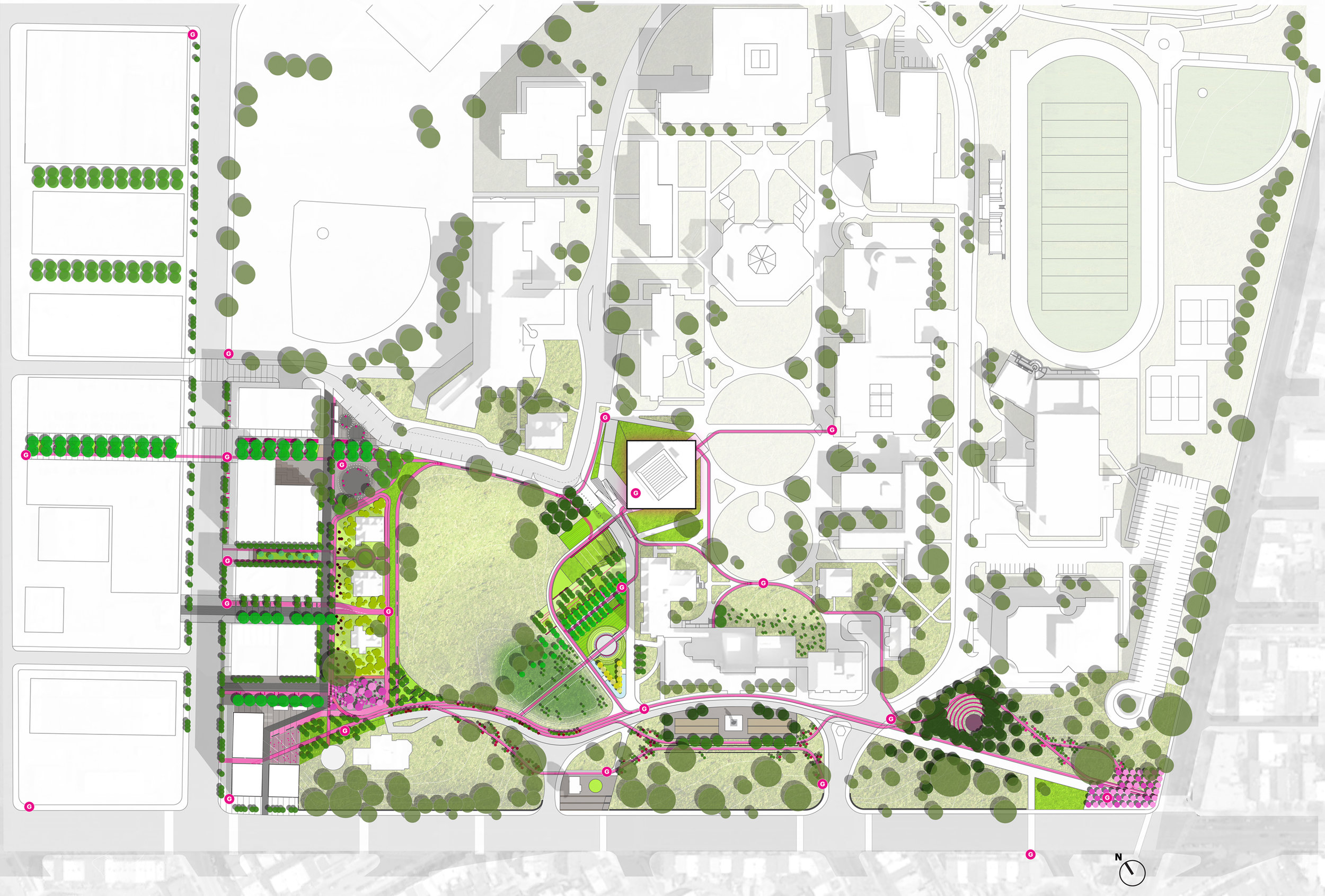 GALLAUDET SITE PLAN