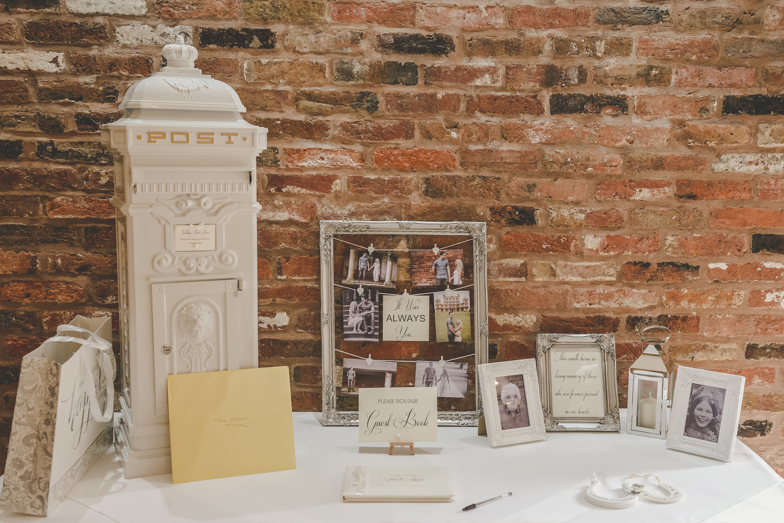 Swancar Farm Wedding Post Box Hire Nottingham
