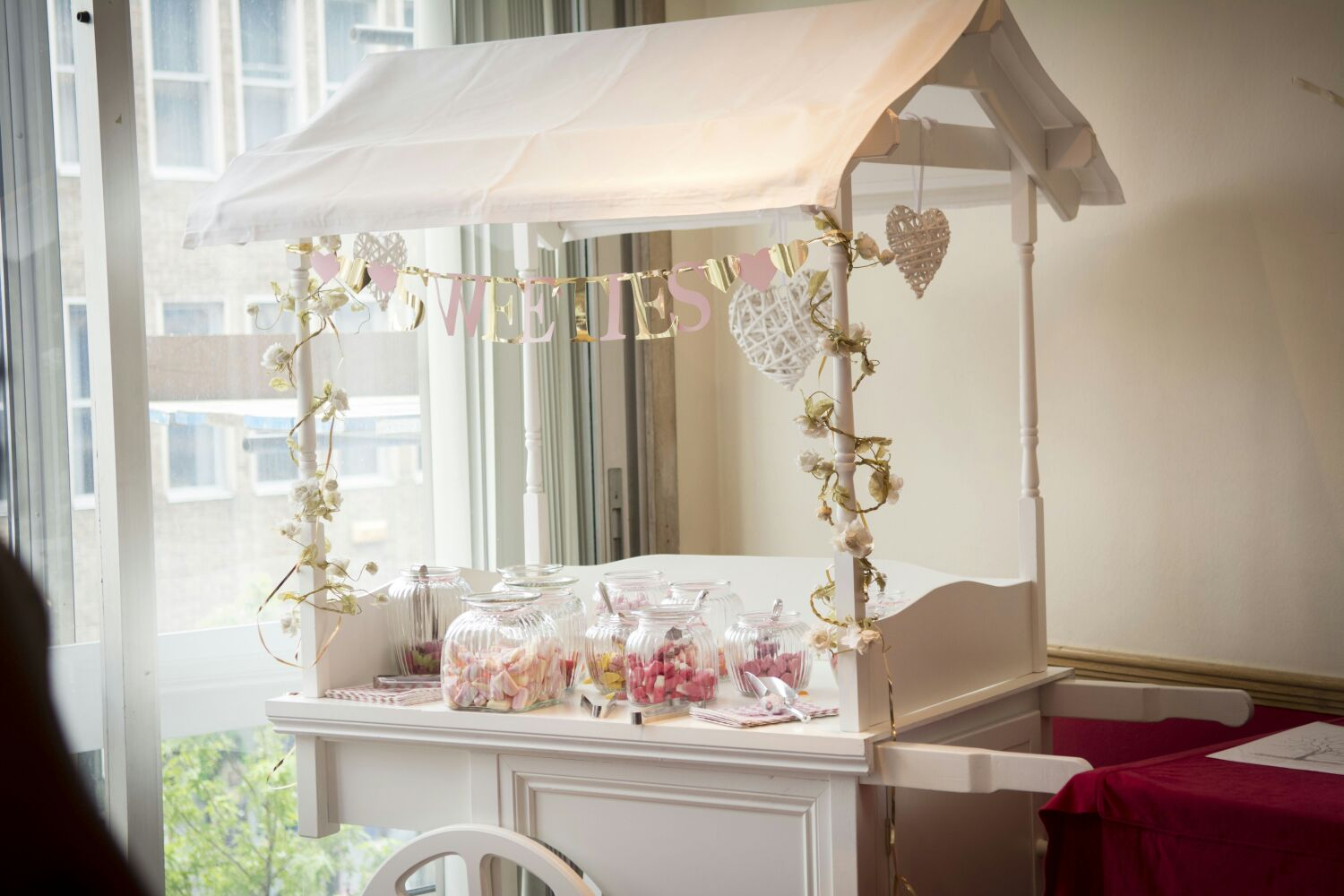 Candy Cart Hire Nottingham, Derby and the East Midlands