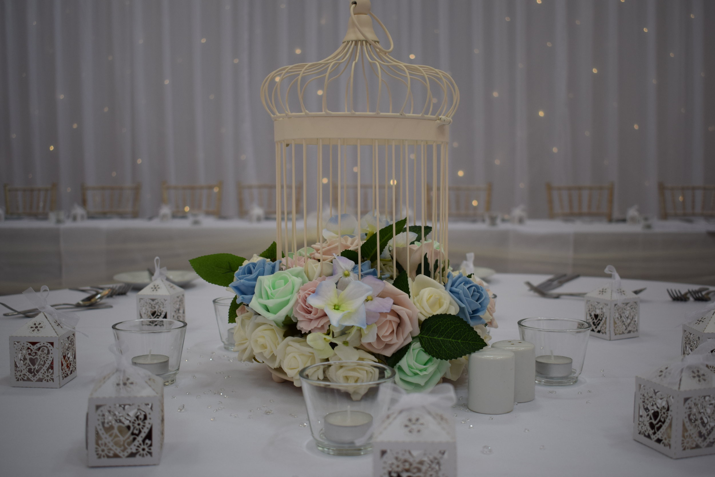 Wedding Centrepiece Hire Nottingham, Derby, East Midlands