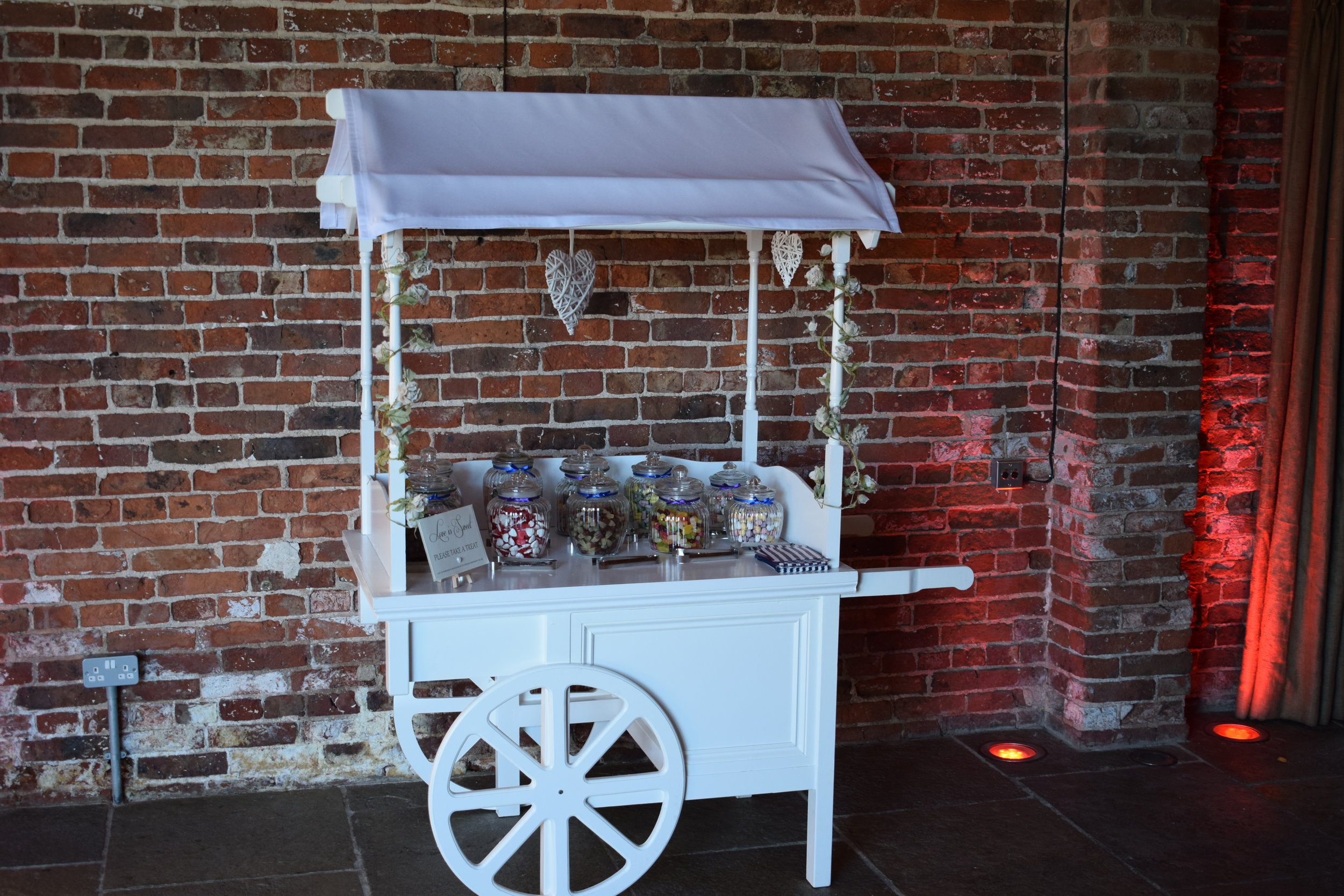 Candy/ Sweet Cart Hire Nottingham, Derby, Leicester Mansfield