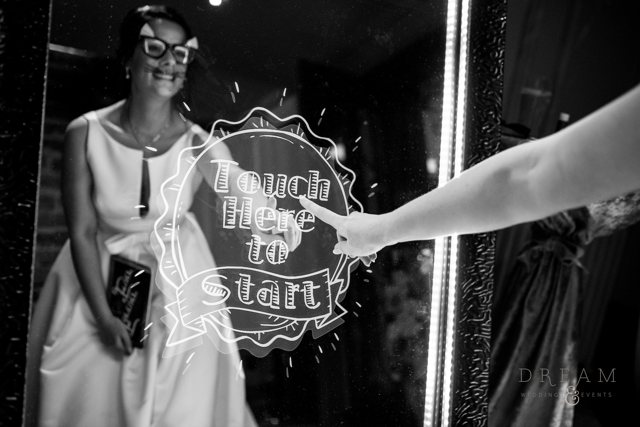 Magic Selfie Mirror Hire Nottingham, Derby, Leicester, East Midlands