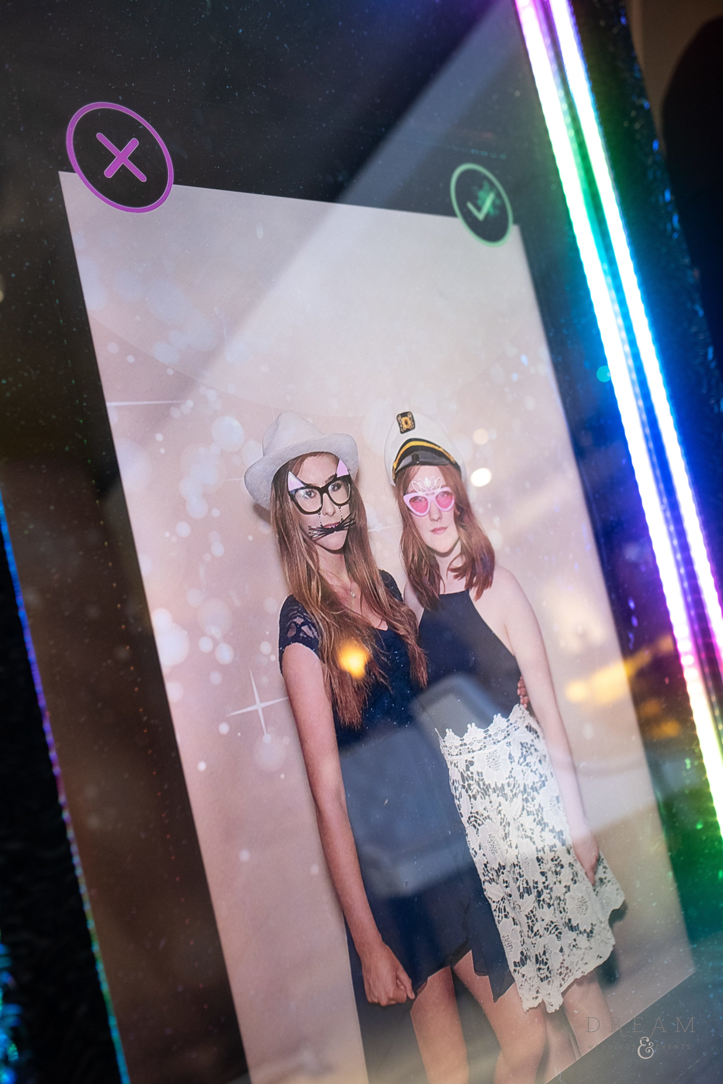 Hire Corporate Magic Selfie Mirror Photo Booth Nottingham, Derby, Leicester, East Midlands