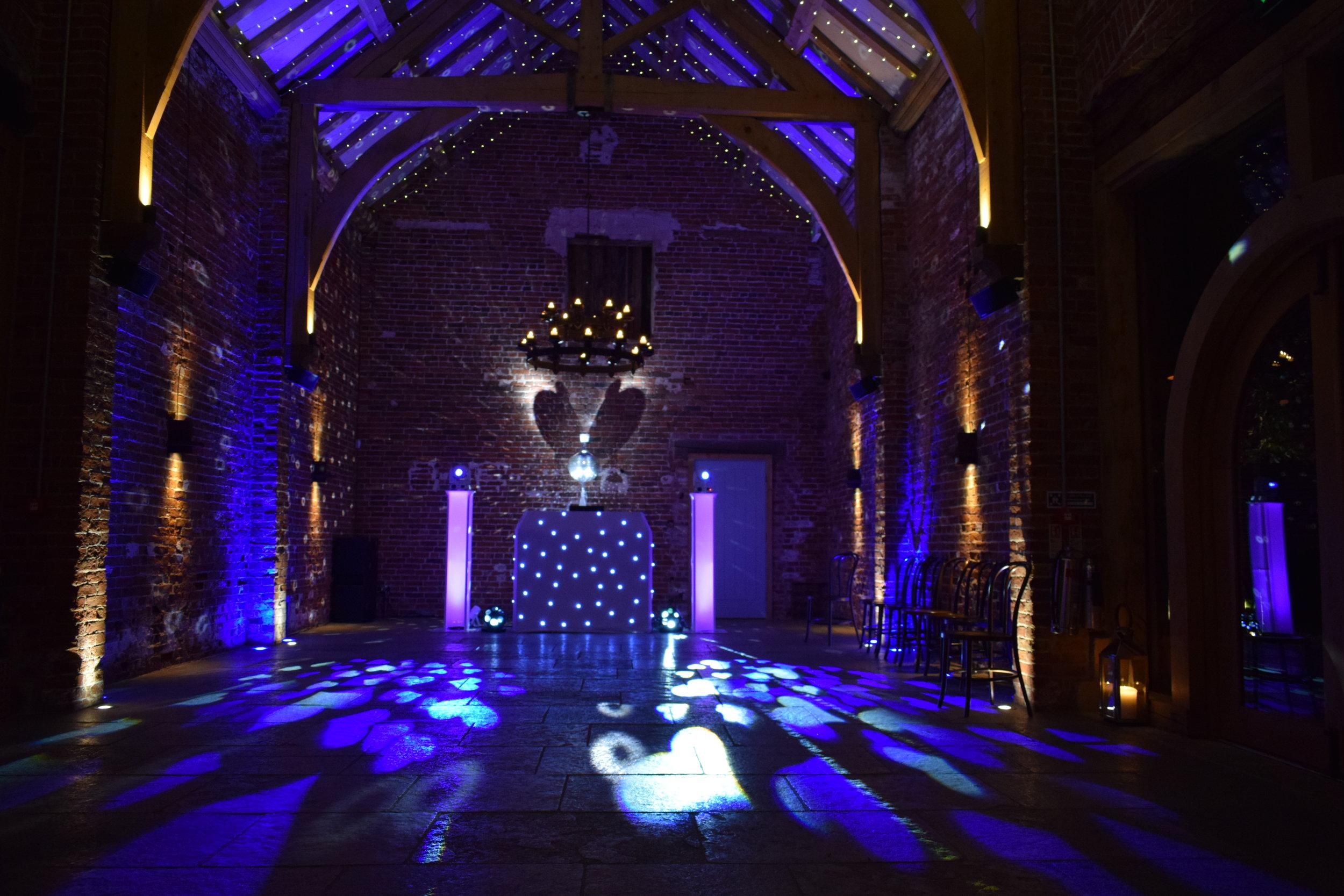 Hazel Gap Barn Wedding Disco
