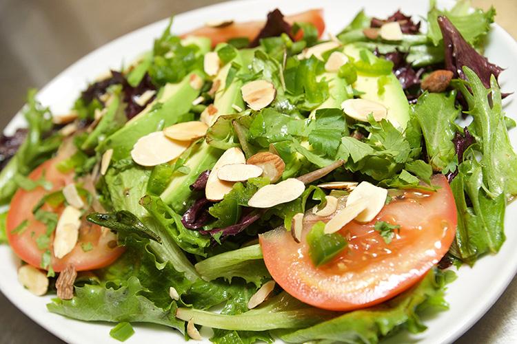 Salads - view menu