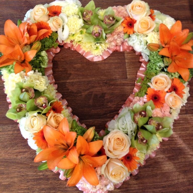 GROUPED HEART - from £50