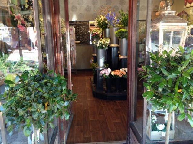View Through Open Doorway into Codsall Flowers