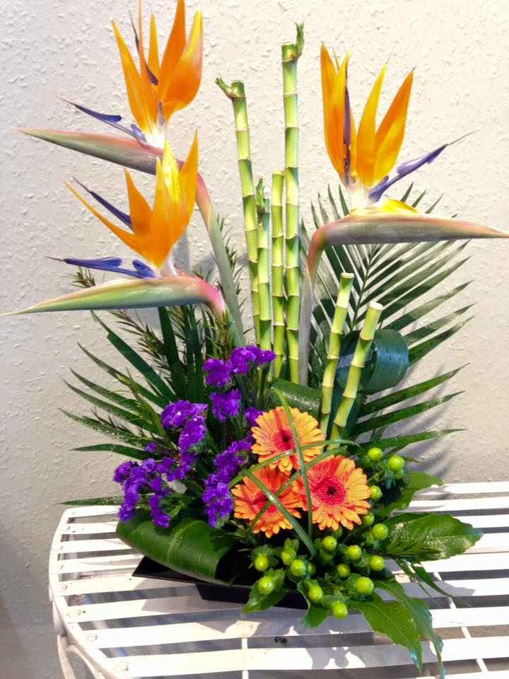 Tropical Flower Arrangement