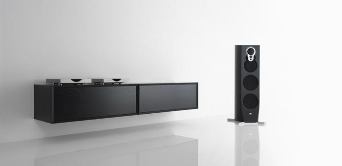 Linn Klimax DS streamer and their Klimax Kontrol Pre Amplifier from c. 2009 onwards - minimal.