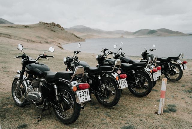 Mountains and motorbikes. Pretty much sums up northern Mongolia.
