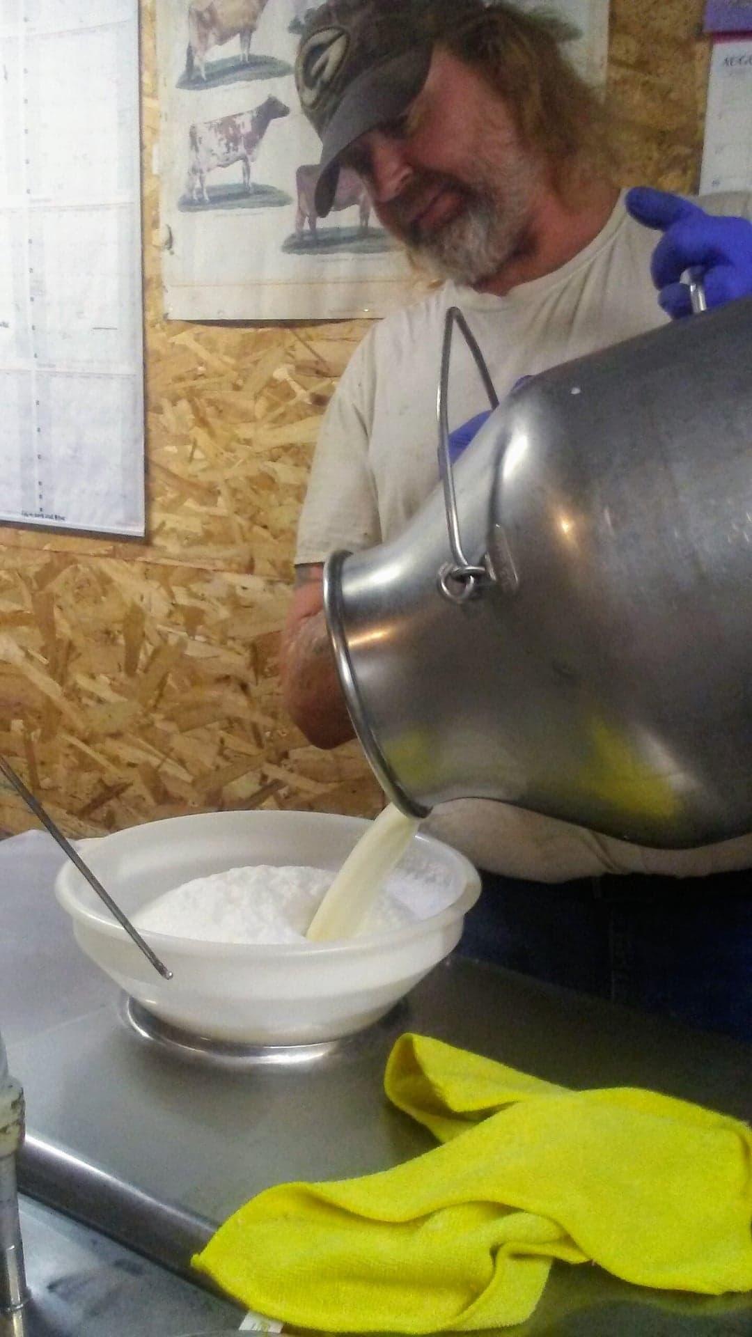 Scott filtering milk