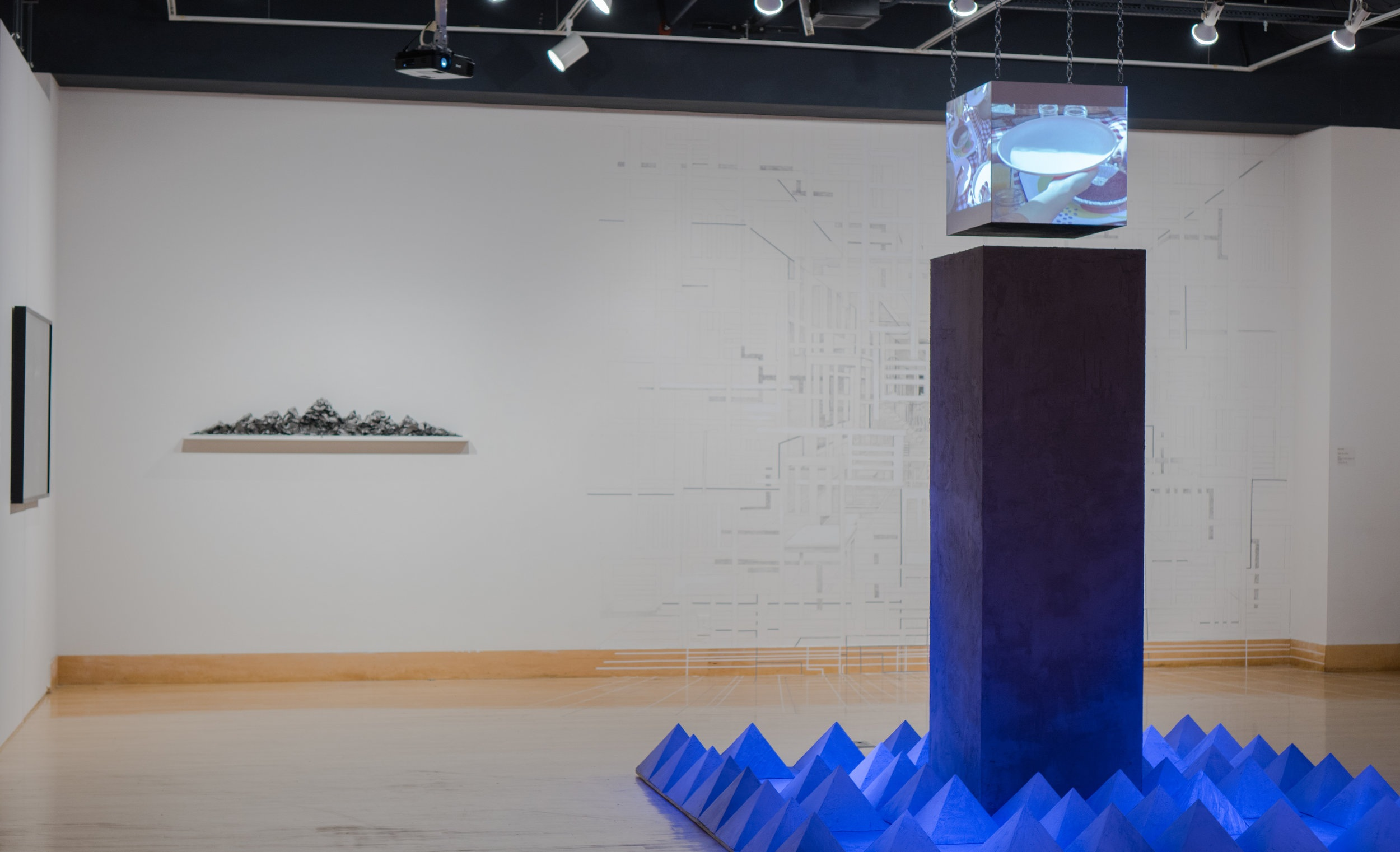 MONOLITHIC UTOPIAN INTERVENTIONS Exhibition Installation