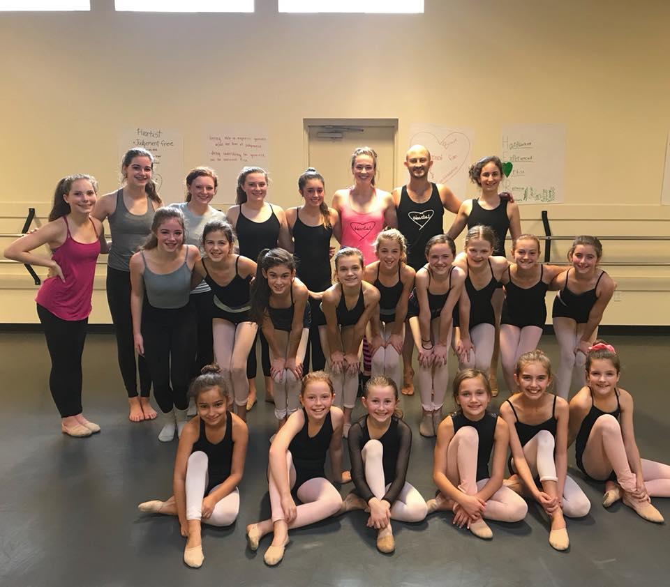 Heart: Dance-Share-Pay it Forward at  Preston Center Dance November 4th, 2017
