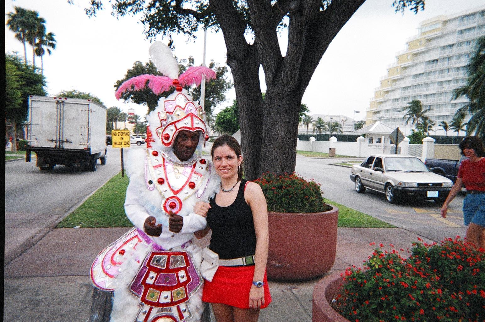 Me & the Mardi Grais Guy-Freeport, Bahamas.jpg