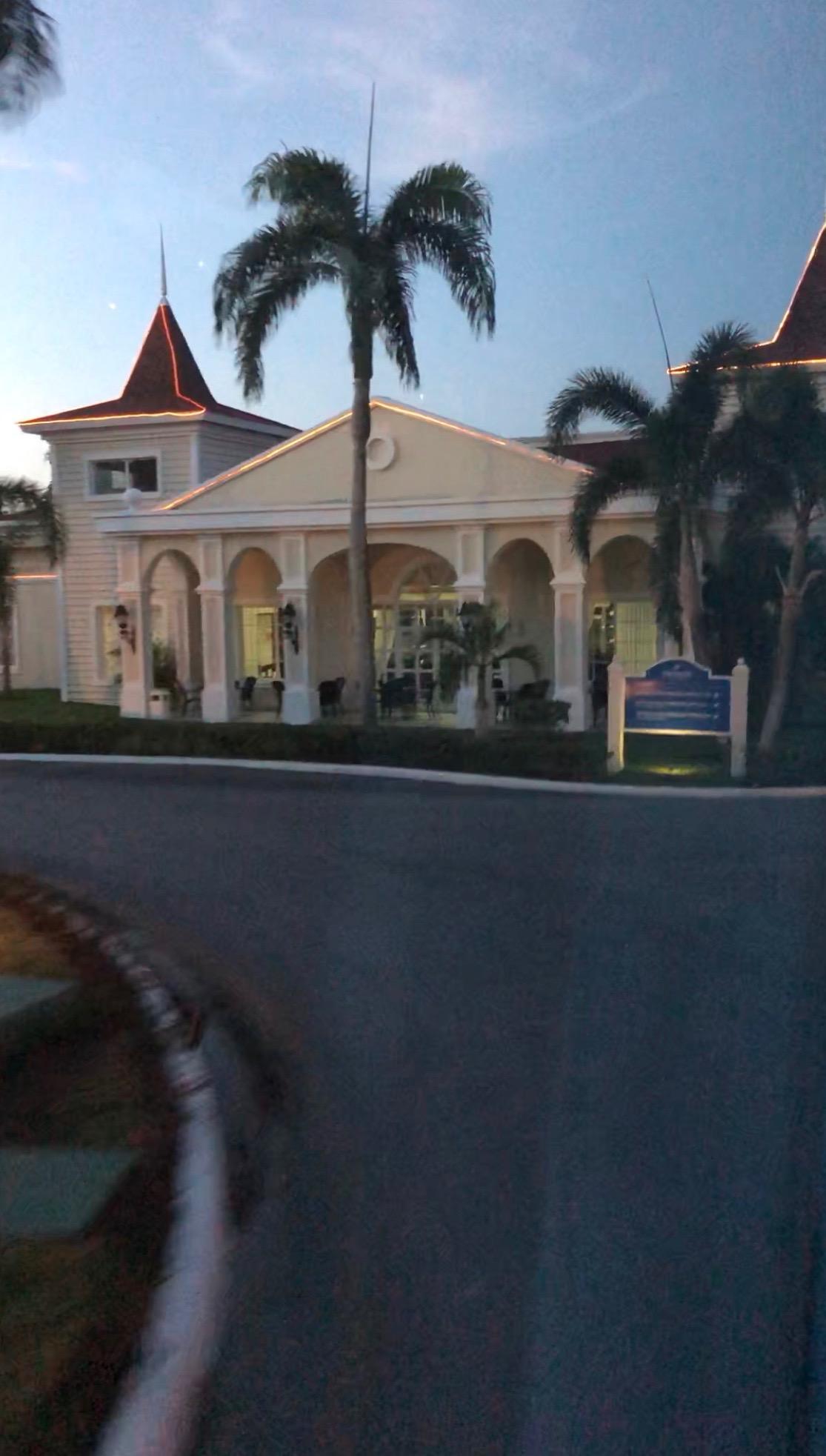 Gates of the Luxury Bahia Principe.