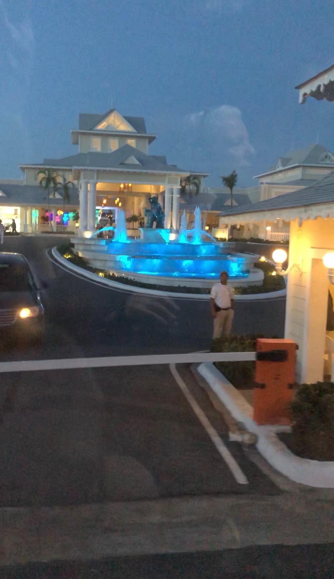 The Luxury Bahia Principe Fantasia main lobby.