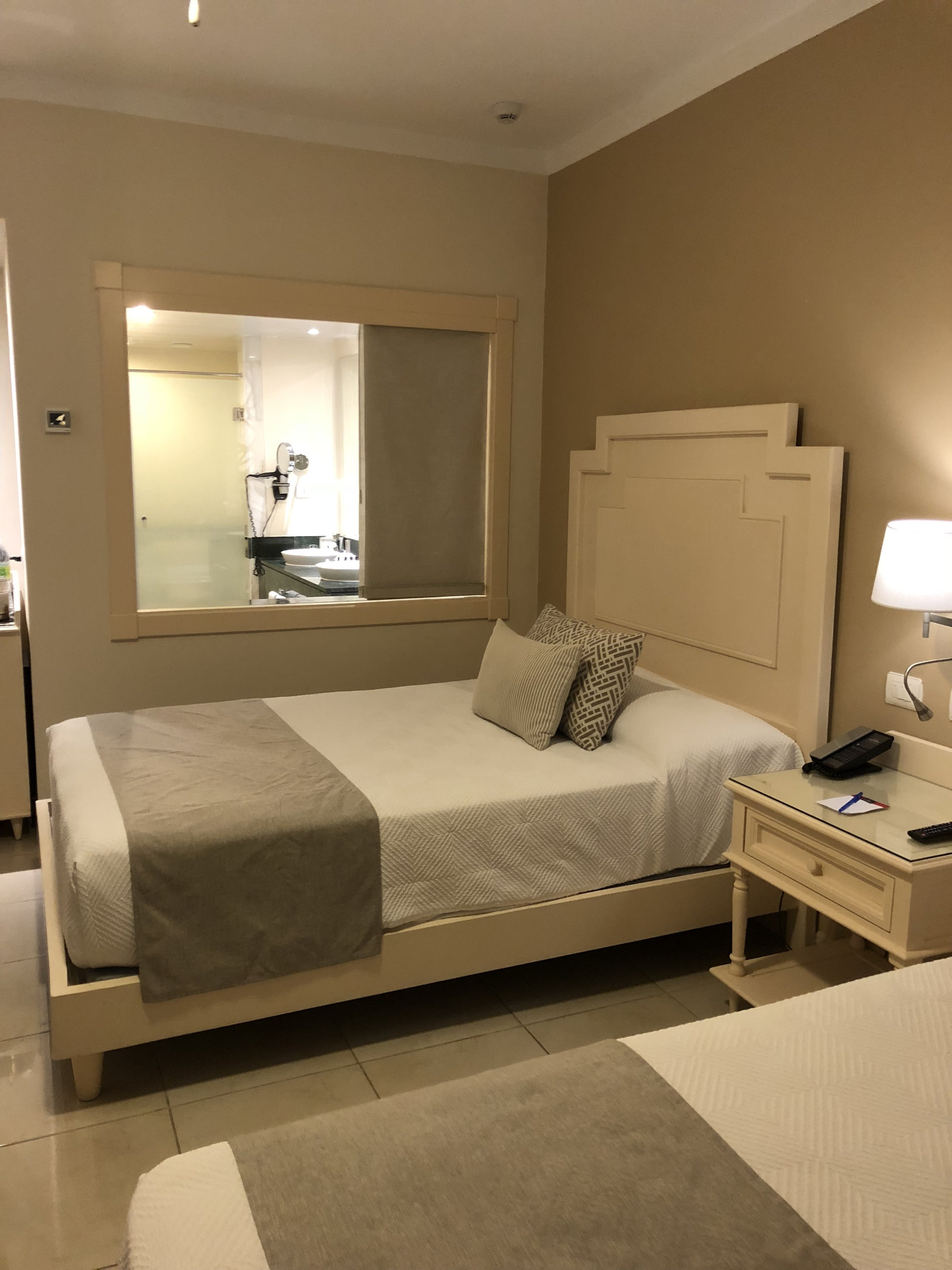 View of the bathroom within the junior suite deluxe.