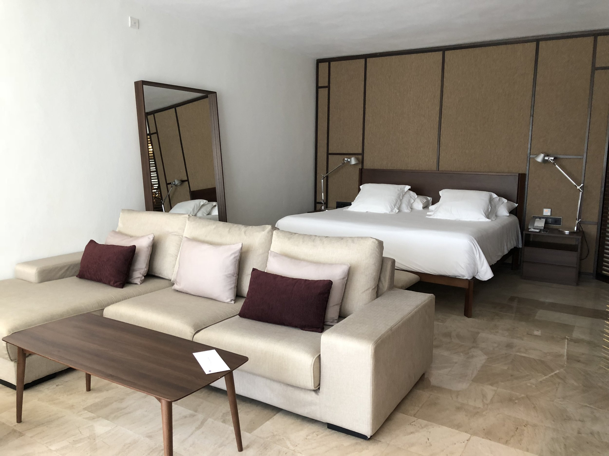 Room Type: Junior Swim up Suite with Deck  King bed and lounge area.