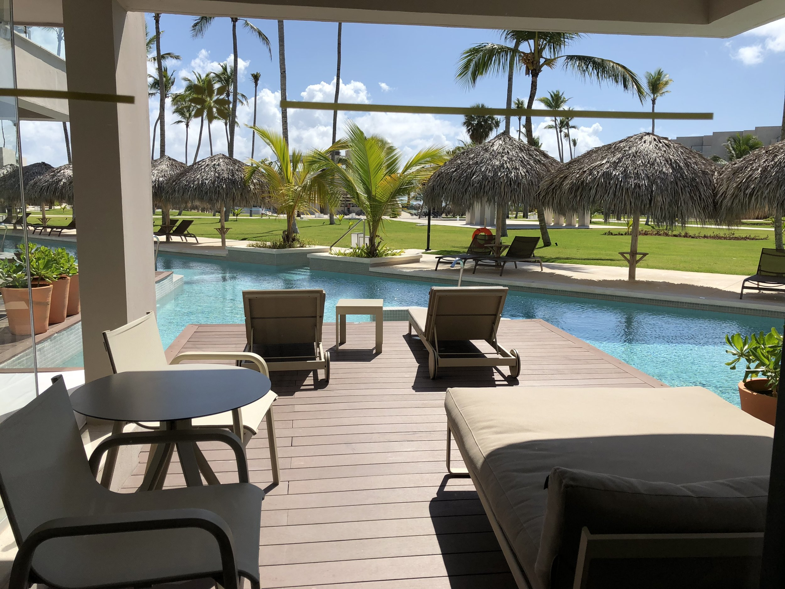 Room Type: Junior Swim up Suite with Deck  View from your room.