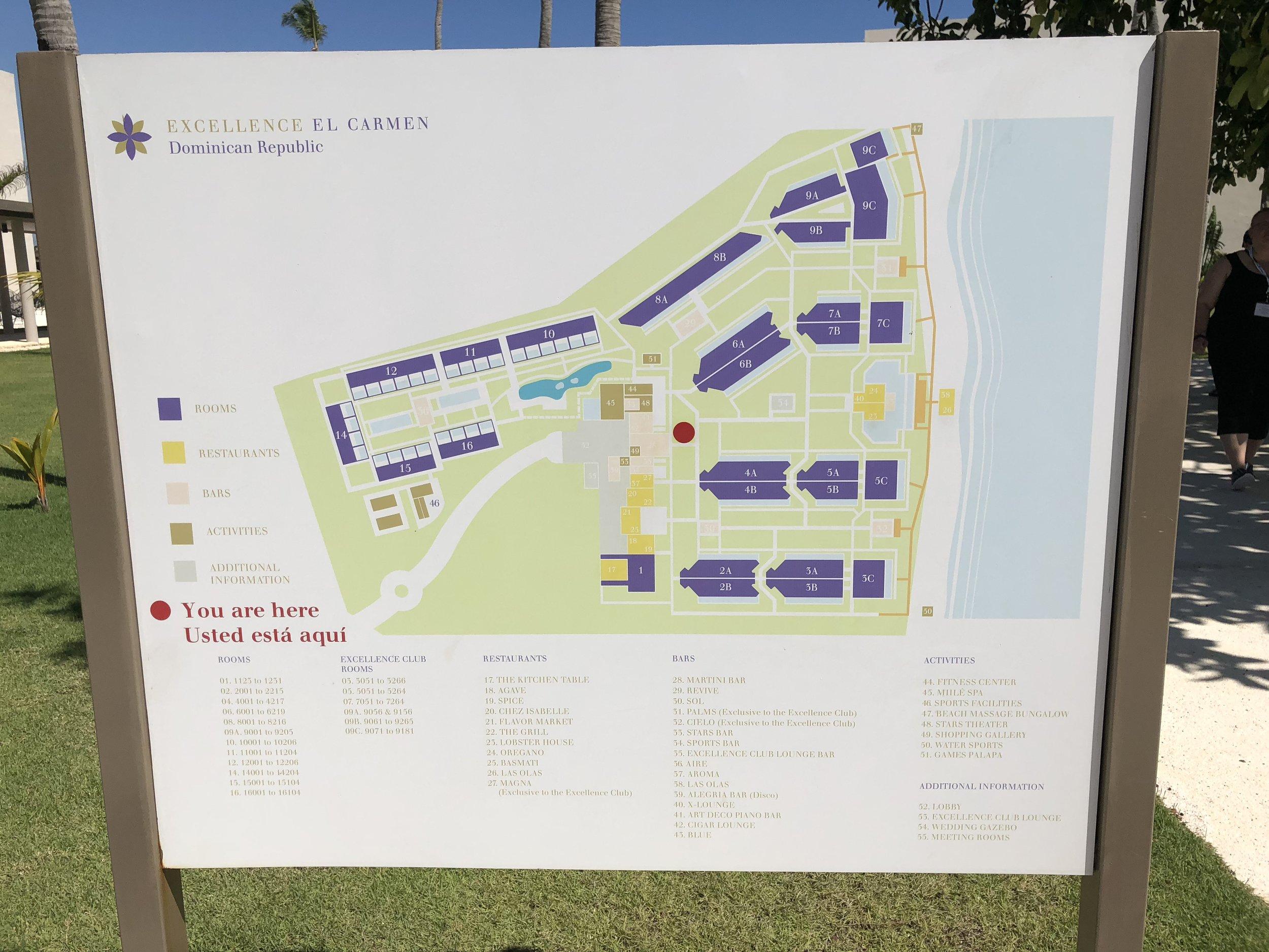 Resort Map.