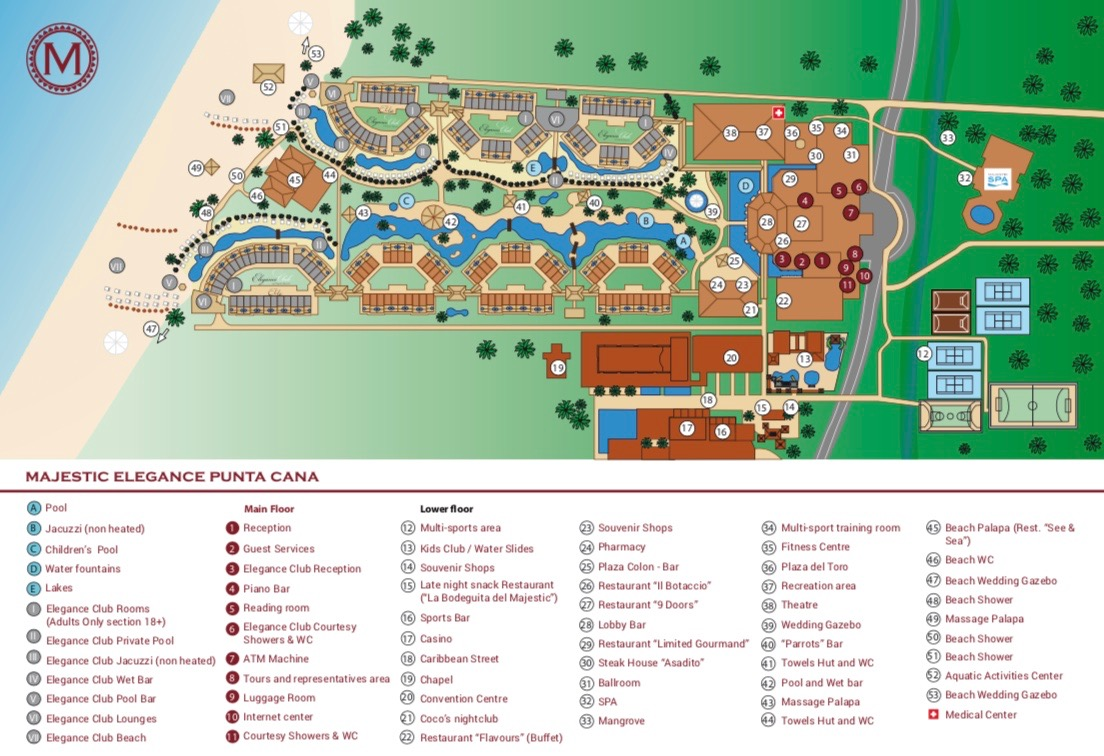 Resort Map.