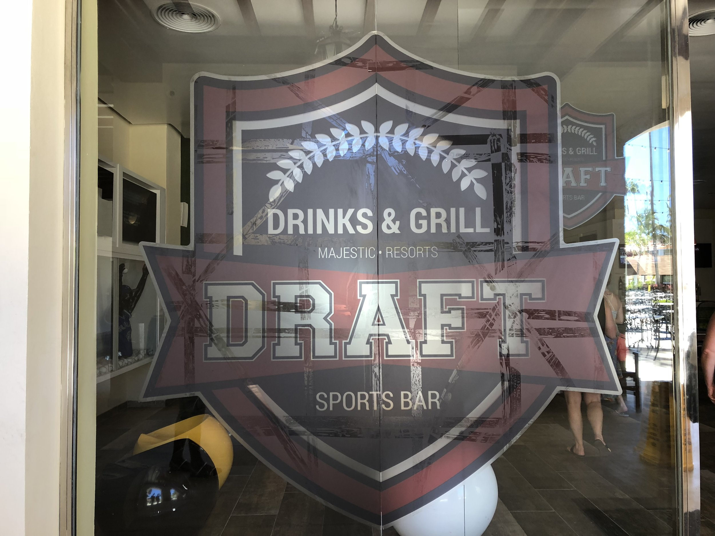 On site sports bar.