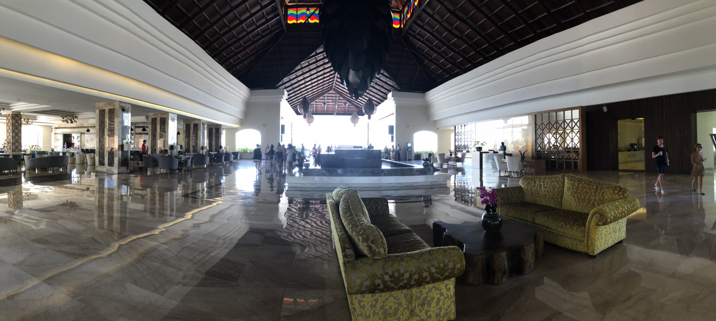 Mirage main lobby, upper level.