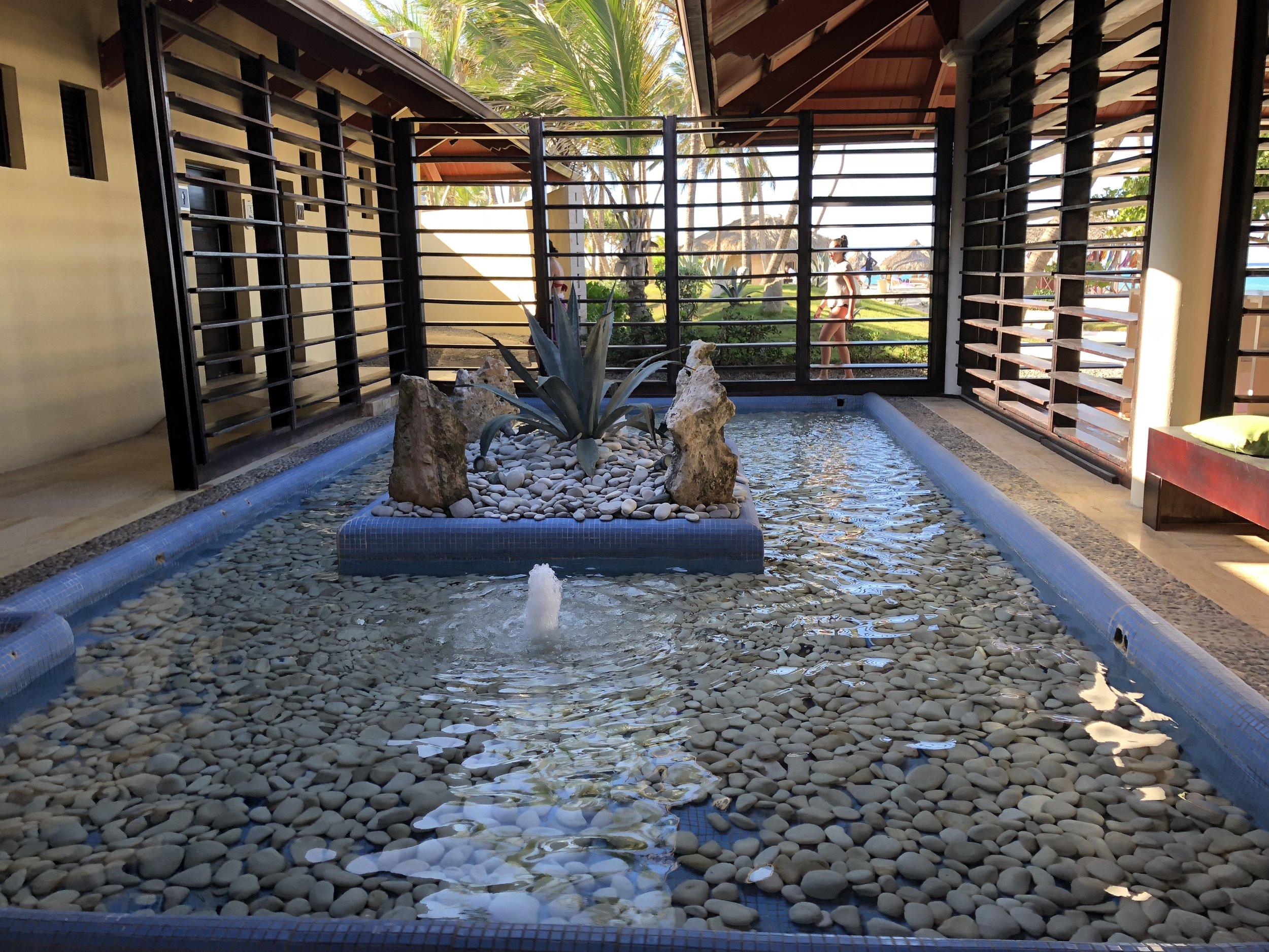 Very pretty water gardens.