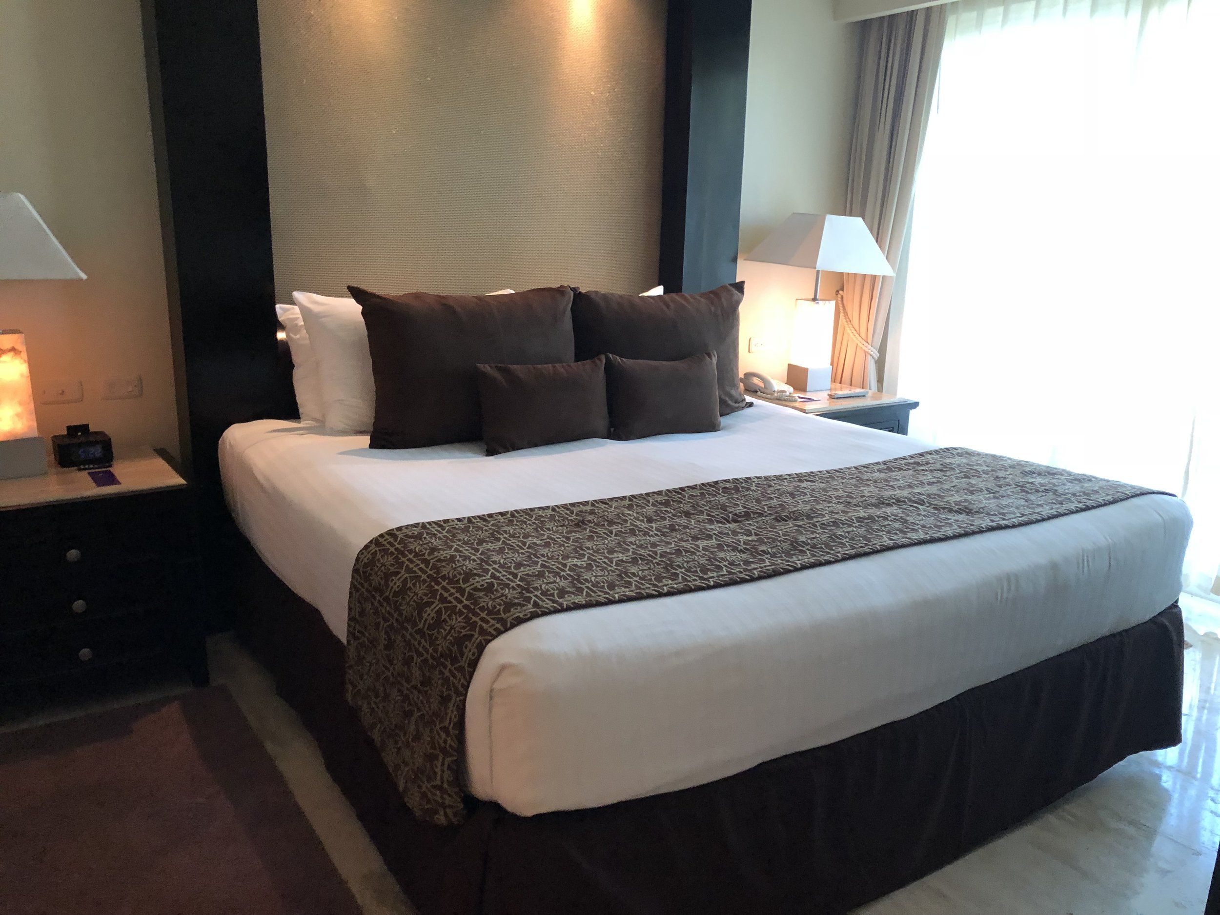 Room Type: Two Bedroom Master Suite  Luxurious King sized bed.