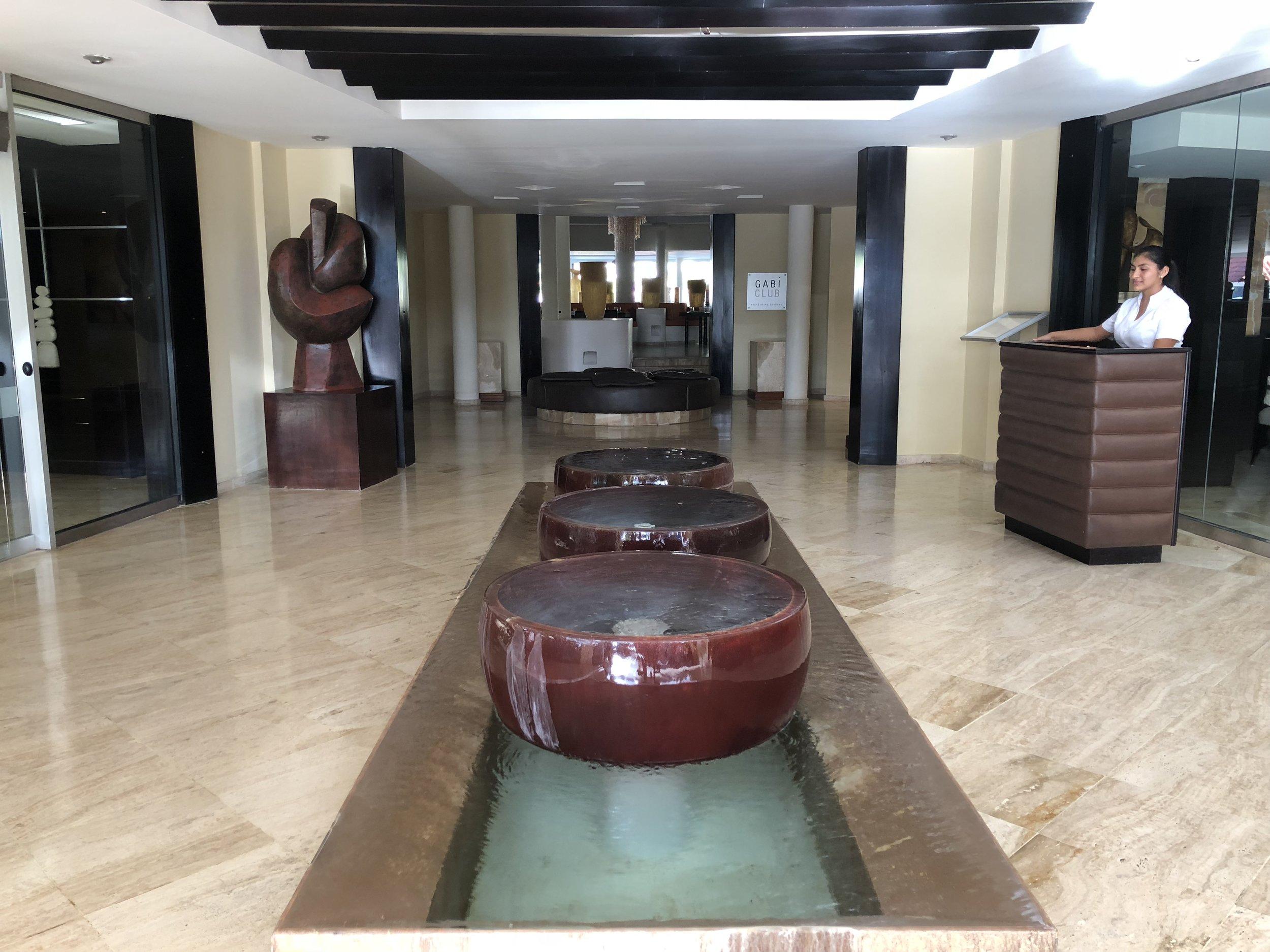 The Reserve main lobby.