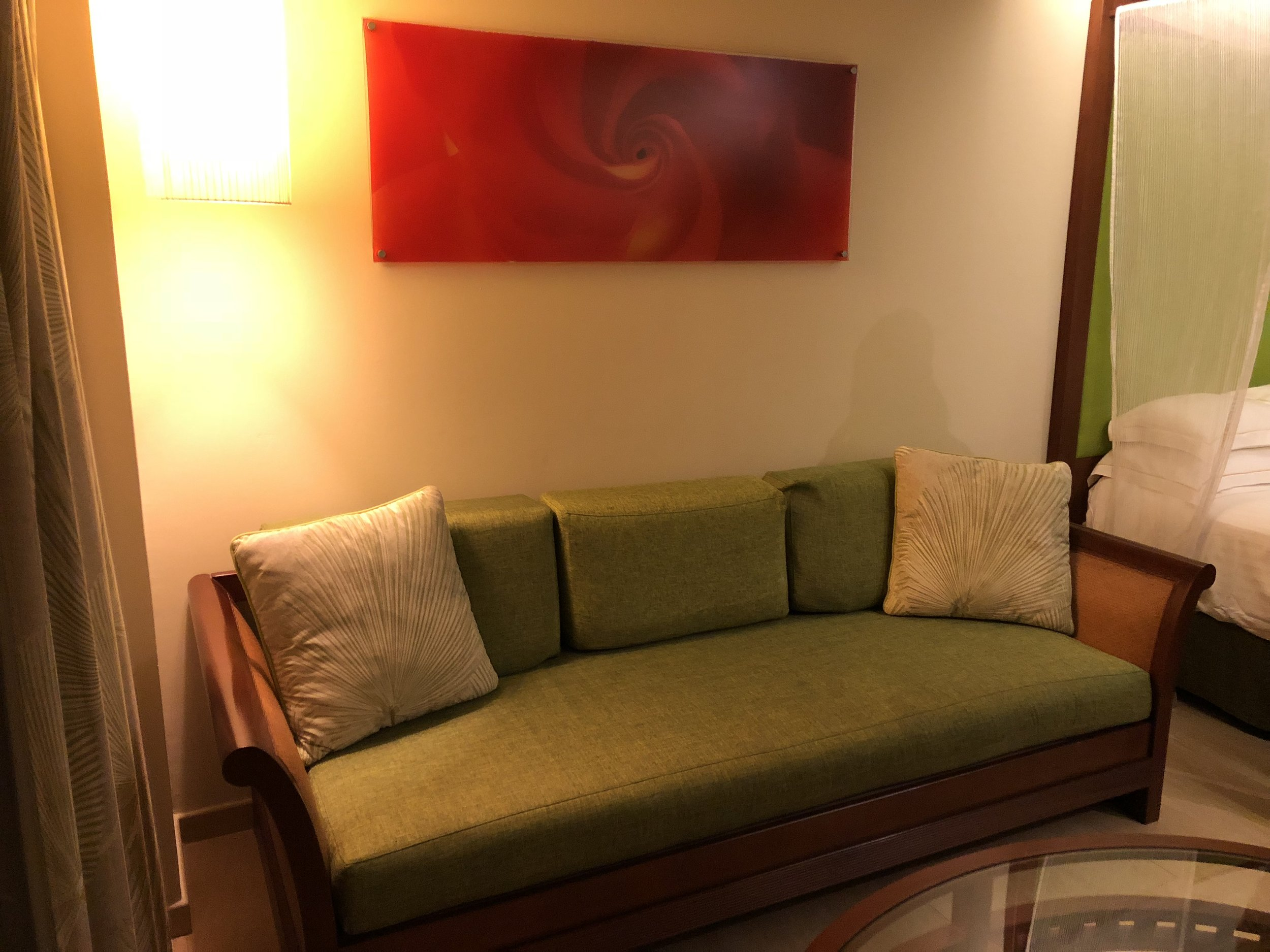 Lounge area within your suite.
