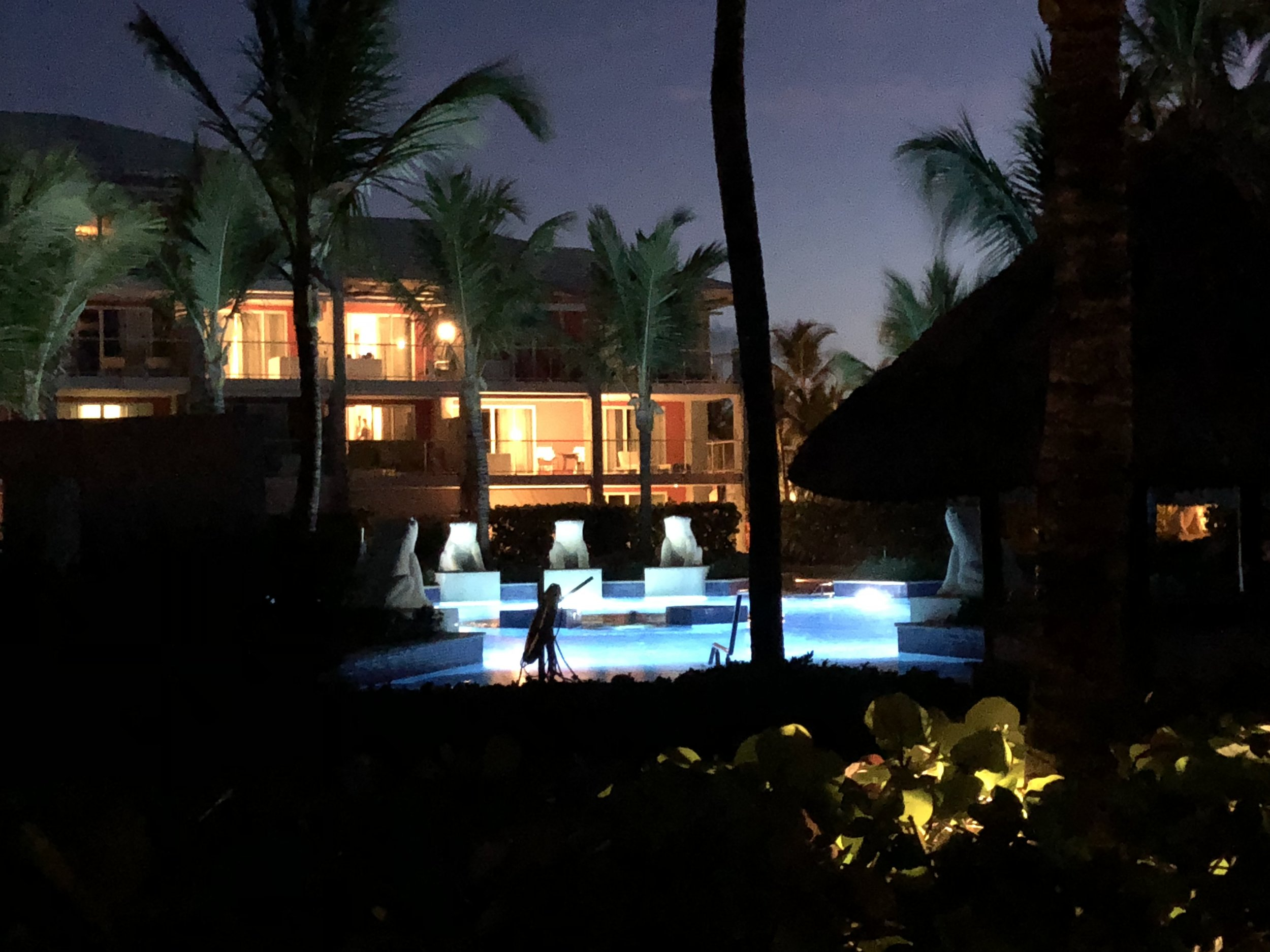 Stunning poolside rooms available.