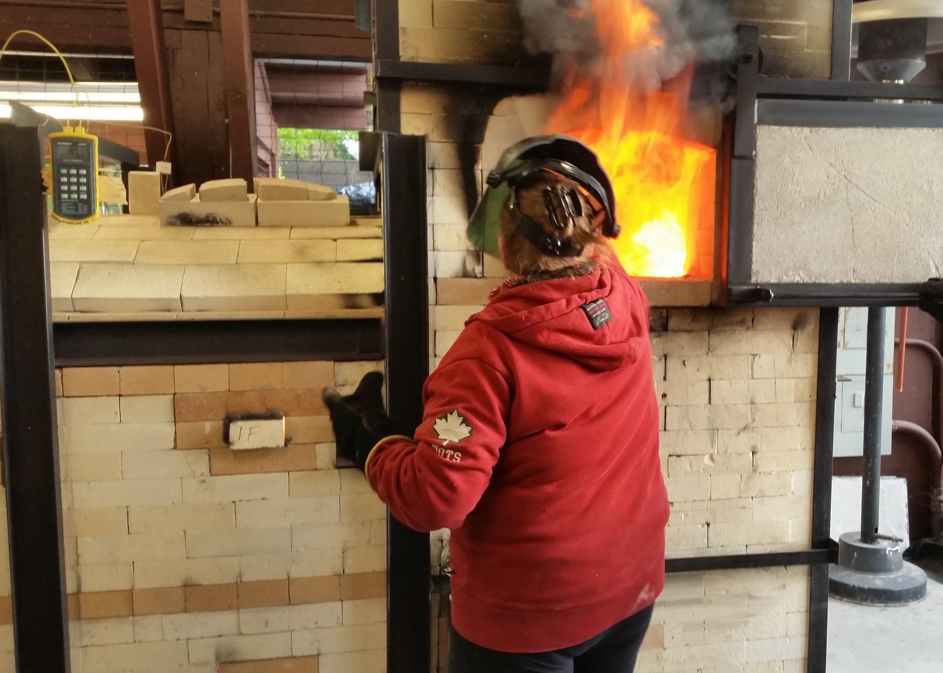 Woodfiring @ Shadbolt Centre for the Arts