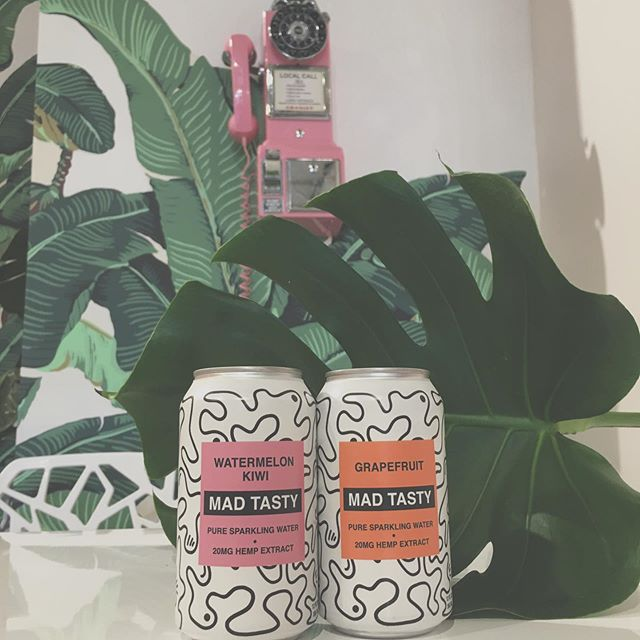 "🍉Go ask Alice, we have gone mad over @Madtasty, a new Hemp Extract Sparkling Water brought to you by Ryan Tedder (One Republic) + Interscope Records. In the shop today! Try one, before ""it's too lateeeeee.... ""😉 . . . . . #madtasty #cutecoffeeshop #burbank #coffee #sunmerdrinks #bloggerdrinks #selfiespots #hemp #hemplife #coffeeaddict #refreshing #bloggergirls"