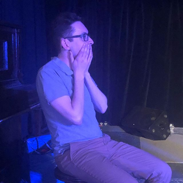 Woz's reactions during Bong Bong Bong needed their own post. Just..... that face tho #improv #improvsanscontext #ottawa #improvinottawa #wizardofwoz