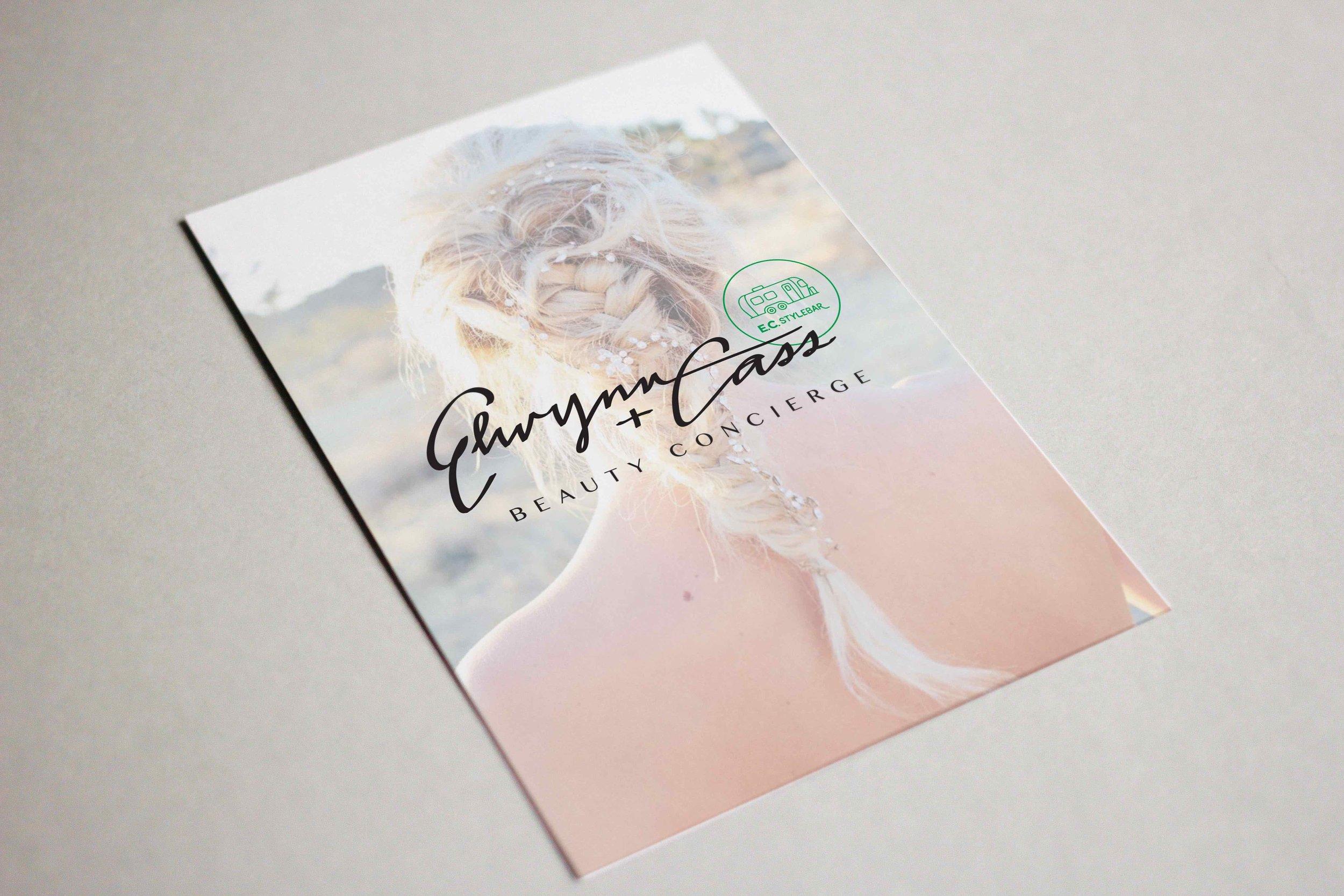 Elywnn + Cass Media Kit Design