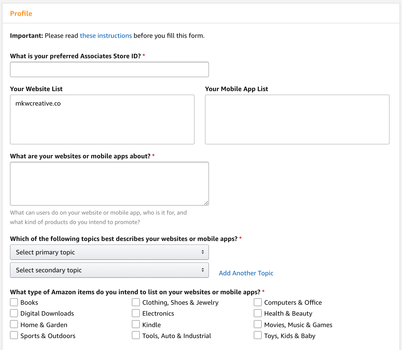 how to get started with amazon affiliates