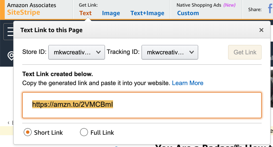 amazon affiliates how to get started