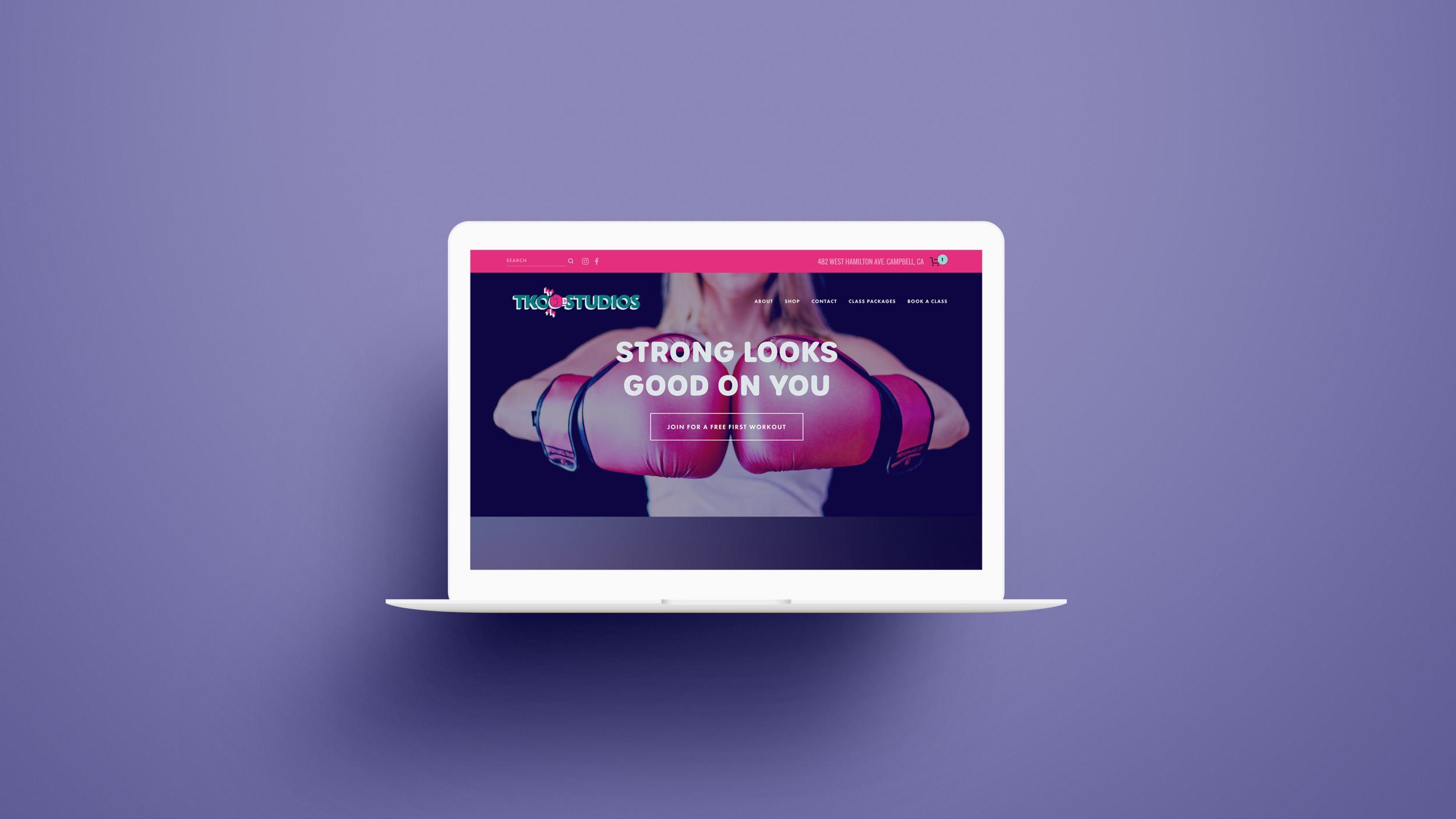 tko studios website design
