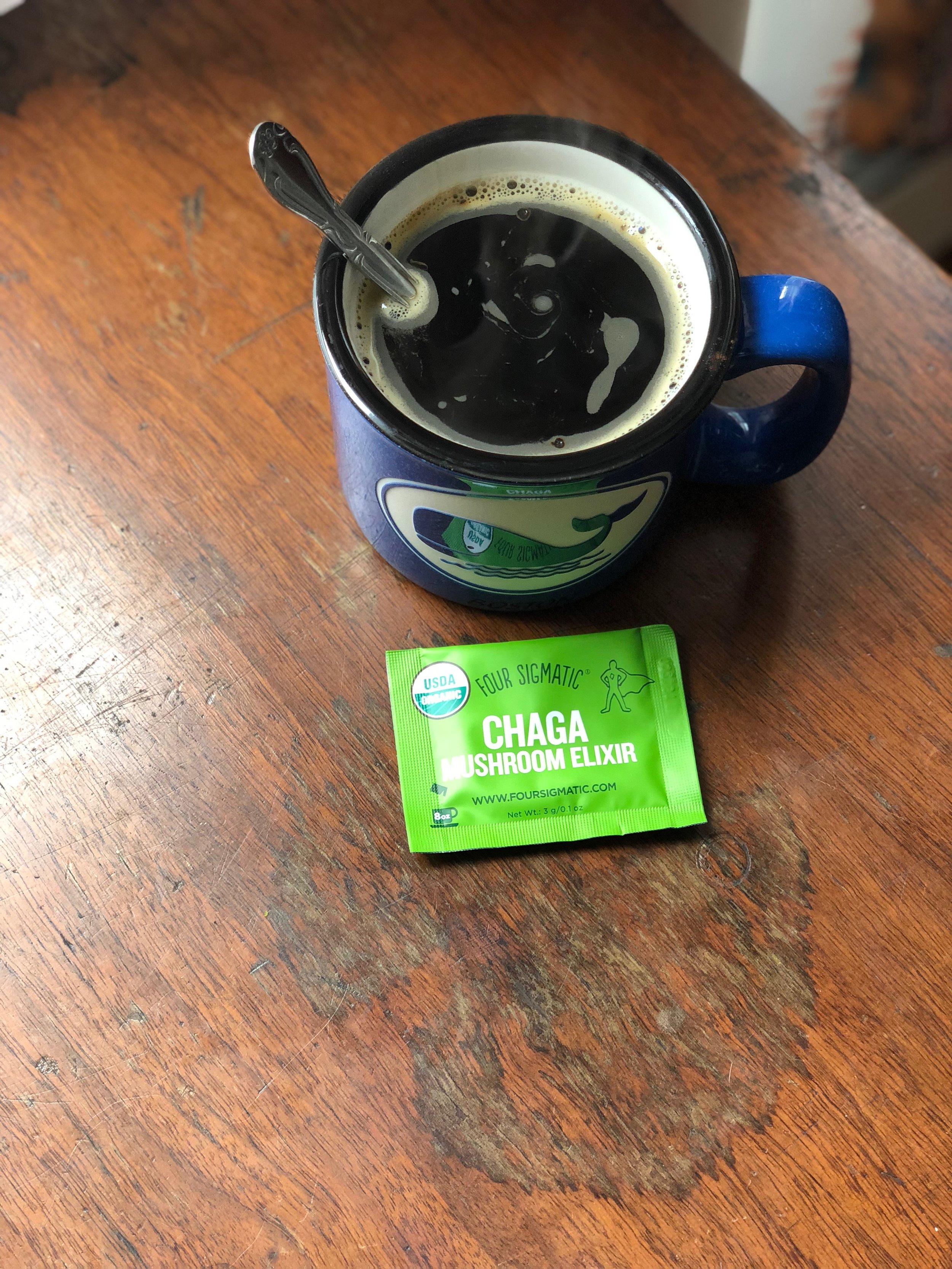 Four Sigmatic:  Chaga Mushroom Elixir Mix