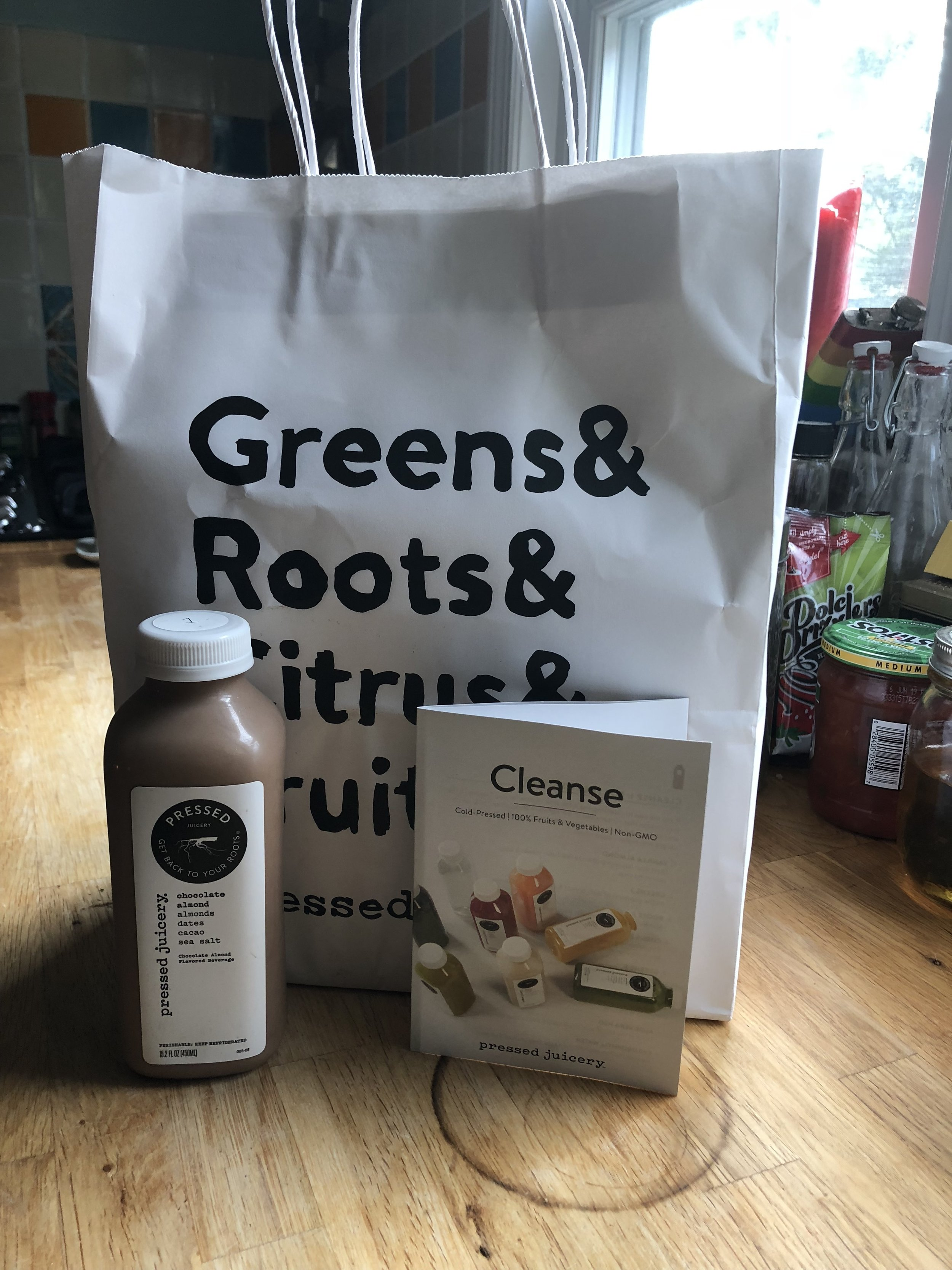 First Timer Cleanse, would highly recommend buying your juice to save you the stress!